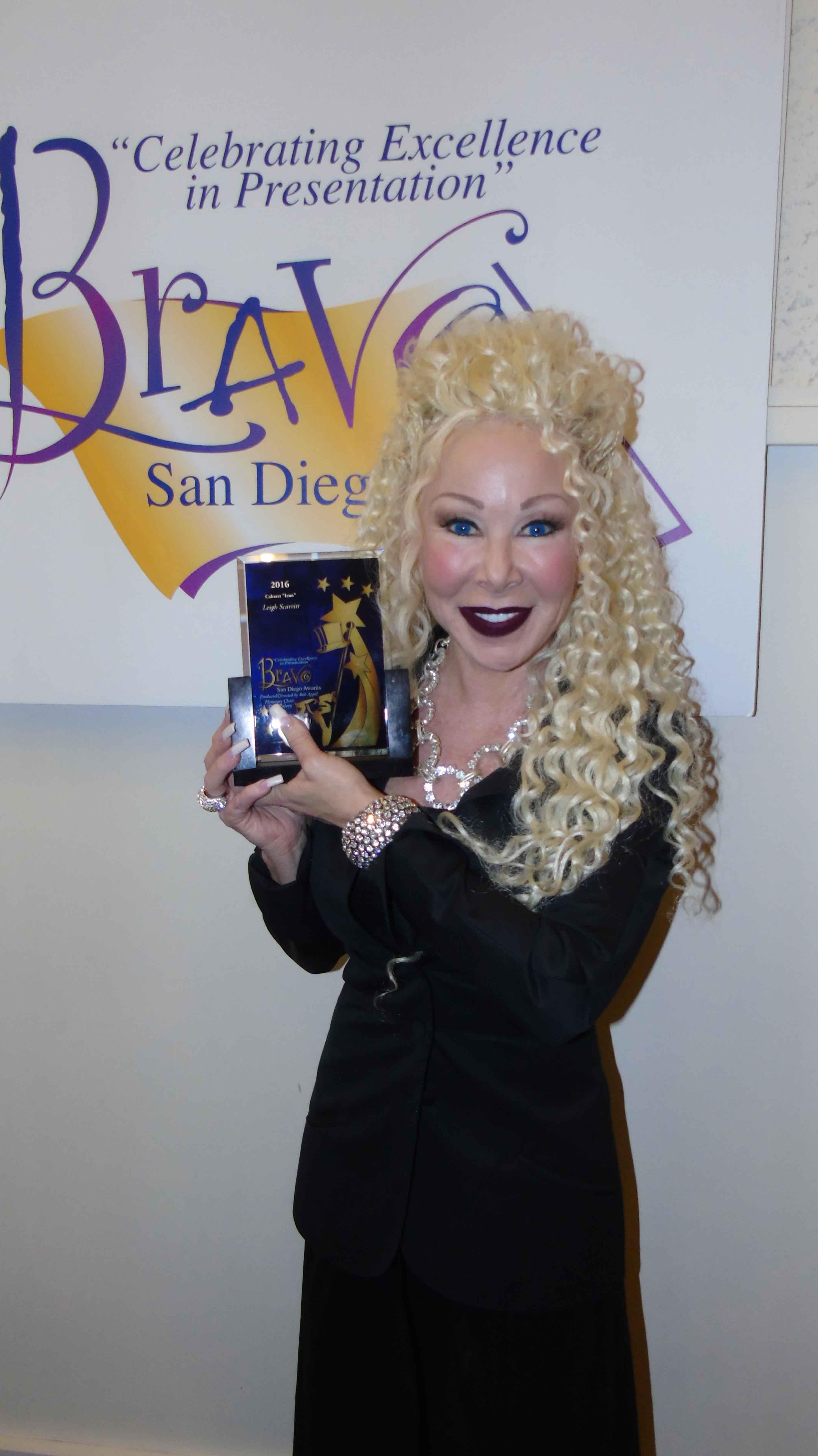 Bravo San Diego 2016 Cabaret Icon Award